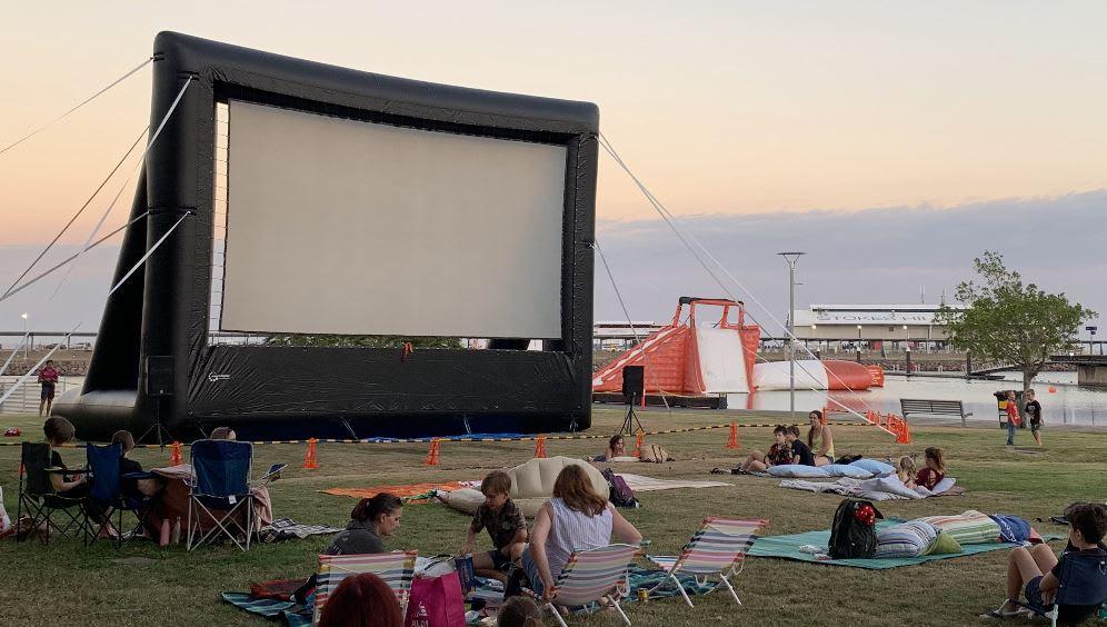 Movie Screens - Jumping Castle & Waterslide Hire in DARWIN