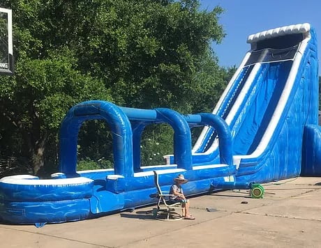 Giant Tsunami Water Slide 28t 60l 18w Water Slides Bounce Houses Obstacle Courses Interactives In Houston Texas