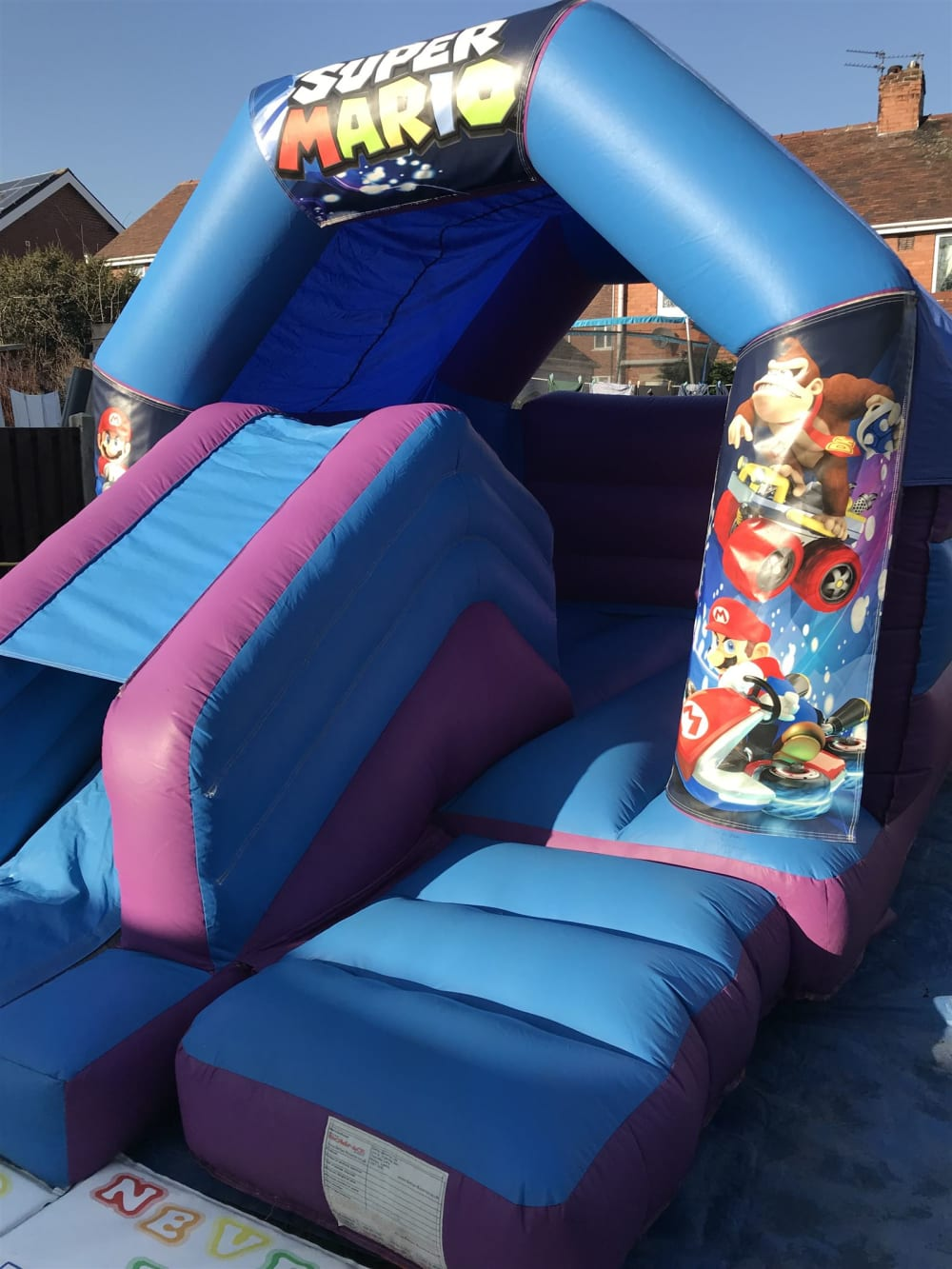 12 x 15ft Mario Kart Combo - Bouncy Castle Hire in Wakefield