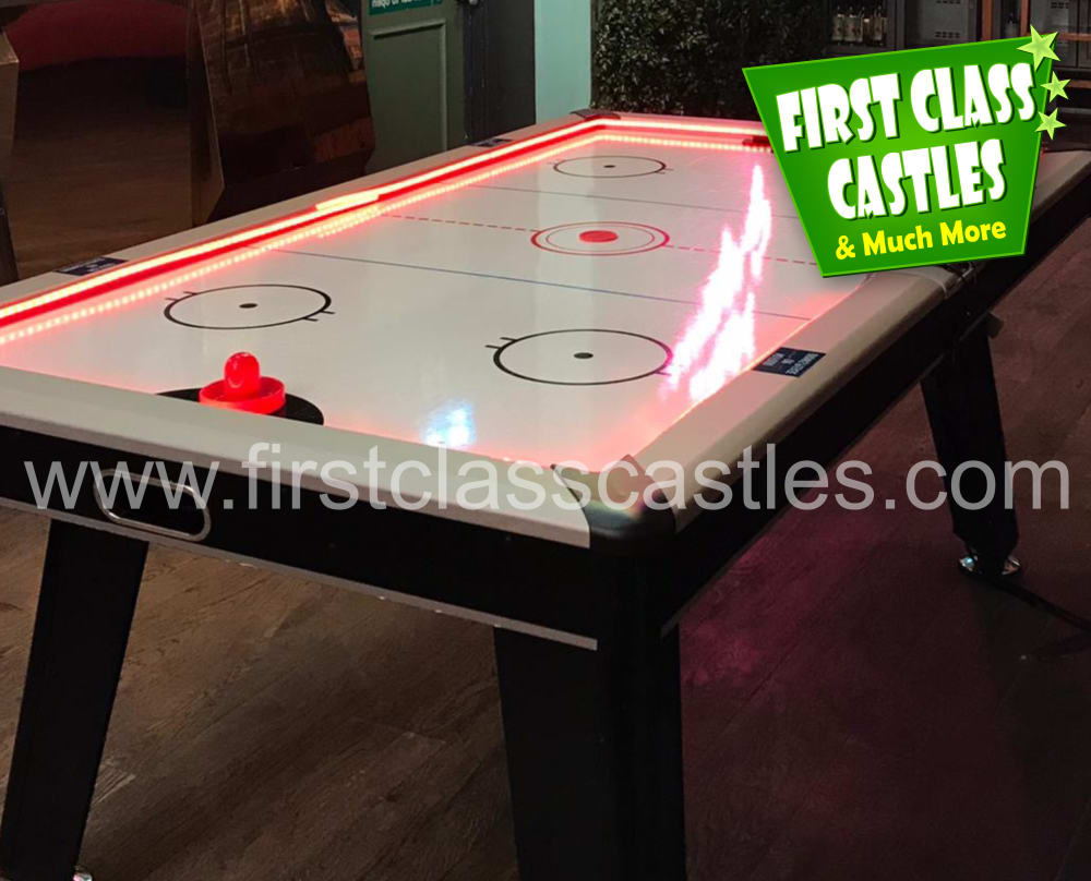 Giant Games Air Hockey Table Game For Hire Or Rent In Ireland