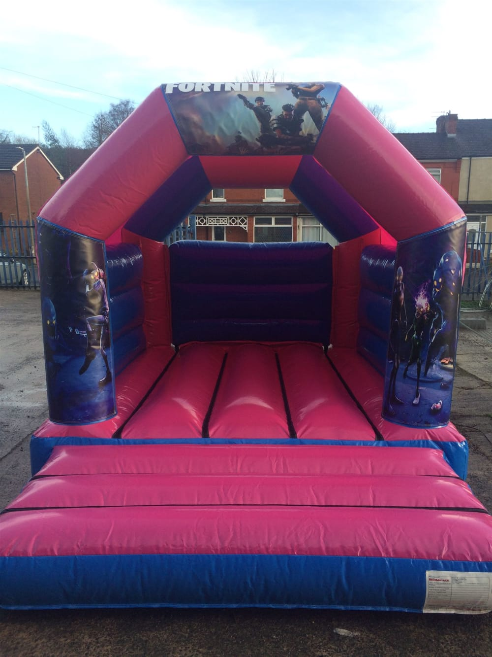 Fortnite standard theme - Bouncy Castle Hire in Manchester