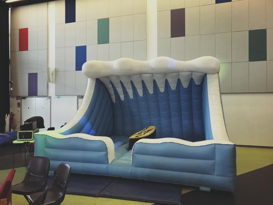 Surf Board Simulator Hire - SJ's Leisure - Bouncy Castle