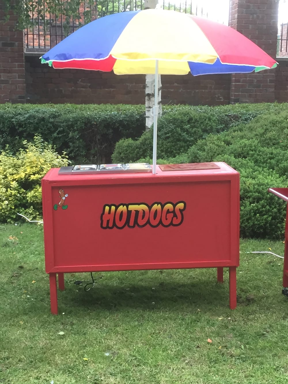 Hot dog cart - Bouncy Castle Hire & Rodeo Bull Hire,photo
