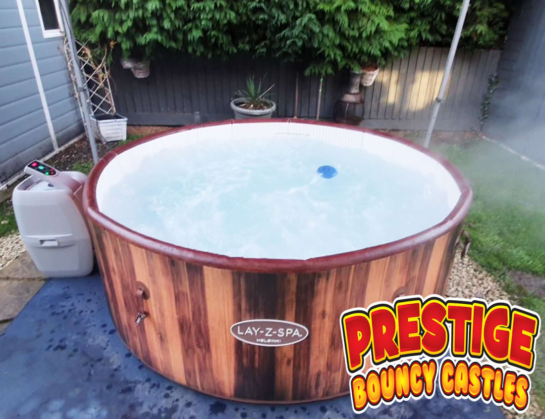 Hot Tub Only Hire Up To 7 Person Bouncy Castles Funfair And Entertainment Hire In Leicester Rugby Coventry Nuneaton Hinckley Lutterworth Surrounding Areas