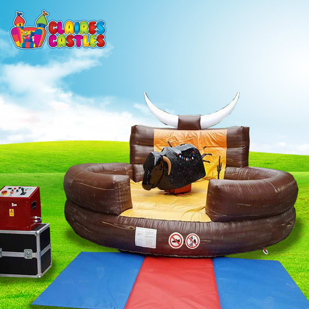 Rodeo Bull & Surf Simulator - Bouncy Castle Hire and Soft