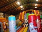 How to maintain inflatable slide covers