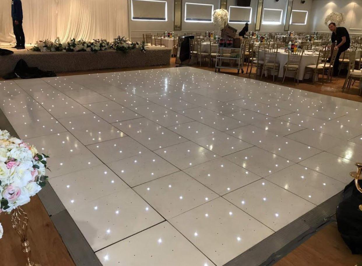 DD White dance floor - Bouncy Castle