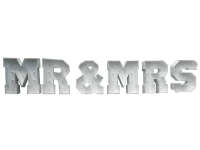 4ft Giant LED MR & MRS Letters