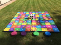 Giant Snakes & Ladders Hire - 5ft x 5ft