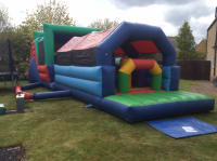 54ft Inflatable Assault Course