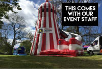 Giant Helter Skelter Slide # Comes with our Staff