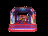 13ft x 13ft Childrens Super Hero Themed Bouncy Castle