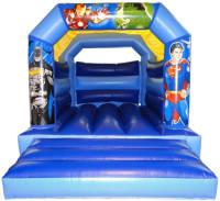 Super Heroes /Avengers Bouncy Castle - Batman, Superman, Iron Man, Hulk