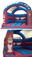Wedding Themed Bouncy Castle