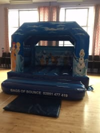 Foundered , ( a Northern Ireland Classic ) bouncy castle