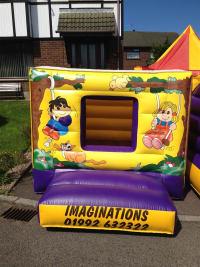 12 x 10 kiddie cube toddler bouncy castle
