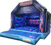 Dance & Bounce Disco Castle (Adults)