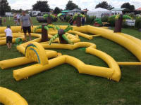 Inflatable Crazy Golf Course Hire