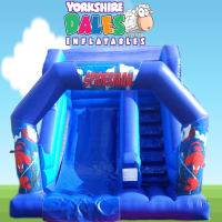 Spiderman Inflatable Slide - 14ft