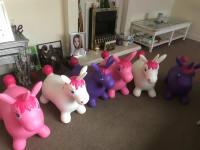 Unicorn happy hoppers x 6