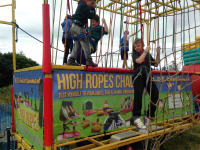 Mobile High Ropes Course # Comes with Our Staff