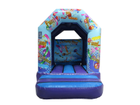 08ft x 10ft Childrens Party Themed Bouncy Castle#SMALLEST CASTLE AVAILABLE! PERFECT FOR THE LITTLE ONES