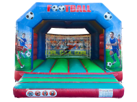 13ft x 13ft Childrens Football Themed Bouncy Castle#SCORE A SCREAMER TODAY