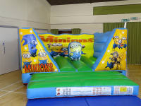 Inflatable Minions bouncy castle