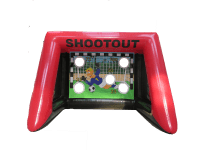 11.5ft x 11.5ft Adult/Childrens XL Inflatable Penalty Football Shootout