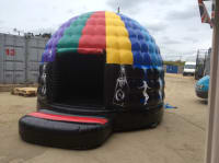 Inflatable Disco Dome Music Playing Bouncy Castle