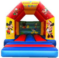 Mickey Mouse Club House Bouncy Castle #Popular for younger children