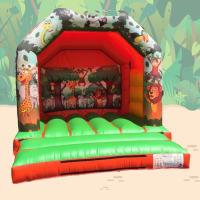 Jungle A Frame Bouncy Castle #3.6m (W) x 3.9m (L) x 3.2m (H)