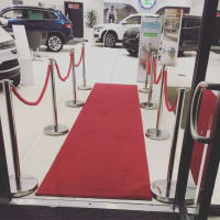 Rope & Pole / Red Carpet