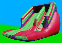 Mega Garden Slide 20x15ft # Our most Popular Slide