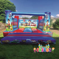 12ft x 15ft Low Height Paw Patrol bouncy Castle