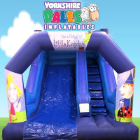 Ben & Holly Inflatable Bouncy Slide - 14ft
