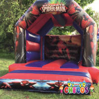 12ft x 15ft Spiderman Themed Bouncy Castle