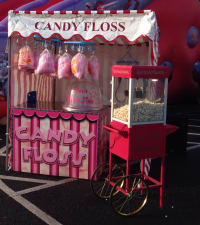 Candy Floss and Popcorn Stalls