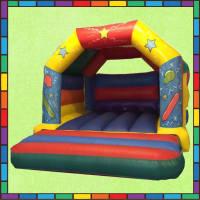 Balloon A Frame Bouncy Castle #3.8m (W) x 4.6m (L) x 3.0m (H)