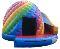 18ft x 20ft Candy/Twister Disco Dome & Slide