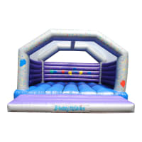 20 x 20ft Celebration Balloon Party Castle #Adult Use +£20