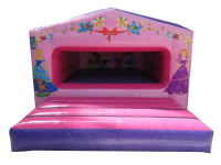 11ft x 15ft Childrens Princess Themed Box Bouncy Castle#GREAT FOR INDOOR EVENTS!