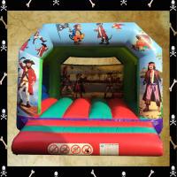 Pirate A Frame Bouncy Castle #3.7m (W) x 4.1m x (L) x 3m (H)