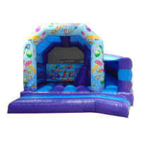 19 x 18ft Party Bouncy Castle and Slide Combi