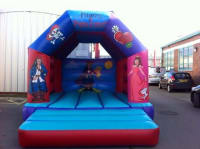 Pirates and Princesses Deluxe Bouncy Castle 12ft x 15ft