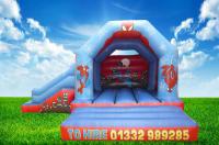 Spiderman Bouncy Castle/Slide Combi