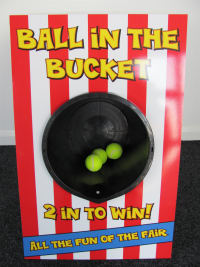Ball in Bucket inc 50 prizes
