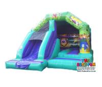 Jungle Bouncy Castle Combi