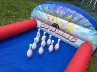new 14ft inflatable 10 pin bowling