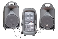 Small Disco Speaker PA System